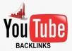 create 60+ PR9 backlinks from YOUTUBE videos in your niche for