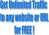 teach you a simple but great and working method that we used to generate over 10million US free targetted traffic