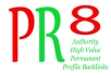 create 20 REAL Angela  Type Links from PR8 Authority websites&reg;, Do follow, Anchor Text, Viewable, Verified, Panda Update friendly