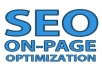 Do ON PAGE SEO of Website