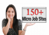 Give You My Healthy List of 150+ Micro Job Sites