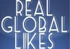 give you 2500 Real and Active Global Facebook Page Fans/Likes to Your Facebook Fan Page without Admin Access within 3 days
