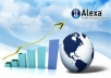 increase your website Alexa Ranking from 5 to 60 percent within 10 days 