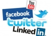 provide you Automation to get UNLIMITED Facebook Likes, Twitter Followers, Youtube Subscribers, web traffic and more...............