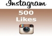 add over 500+ Instagram Likes on 1 Picture/ 500+ real likes