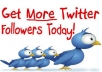 provide you 50,000+ very real looking Twitter FOLLOWERS that you can split between 2 accounts or put all in one in less than 24 hours