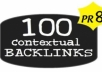  create 400+ high pr Contextual BACKLINKS on pr3 to pr7 wiki sites 