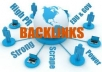"get you 300 permanent backlinks today with a free report ""Quick & Easy Backlink Sources to Rank #1 in Google"""