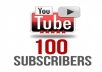Give you 100 REAL quality subscribers to any YouTube 