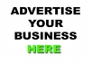 show your banner ads on my site for 6$/Month