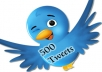 show your tweets in 500 twitter accounts for 5$
