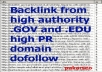 create 50+ PR5 to PR9 Permanent .Edu and .Gov Backlinks