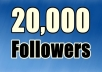 add 20,000+ twitter followers real Looking and high quality without any egg on your twitter page within 4 hours !!!!!!!!!!!!!!