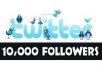 add 10000 twitter follower to your any twitter account less than  21 hours
