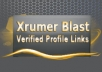 PROVIDE 6.000 XRUMER BACKLINKS