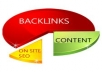 create 30 contextual EDU backlinks all with your keyword