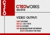 create a professional 720p TRENDY modern typography video ...........