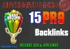 create 15 High pr Profiles BACKLINKS from PR9 PR10 Authority Web 2 0 Sites+Forums for Penguin, Panda Safe, DoFollow seo............