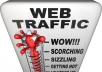 send 50,000 Unique Real Human Visitors to your LINK and proof for the traffic