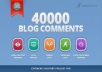 make 40,000 blog comment backlinks !!!!!!!!!!!!!