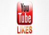 Get 1000+ (upto 1000) Youtube Likes with different REAL and ACTIVE accounts