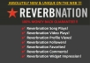 get you 3200++ Reverbnation Song plays 5200+ Reverbnation Video Plays