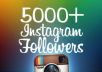 give You 5,000+ Instagram Followers OR 5000+ Instagram Likes To Boost Your instagram Ranking And Make You Popular