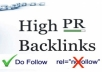 I will create 1200+ high pr dofollow backlinks get your site rank higher on search engines