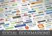 social BOOKMARK your link to 600 HIGHPR sites complete with full report dominate google penguin today