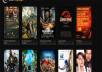 Set up an automated MOVIE website with over 1000+ movie database