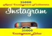 add 30000+ PERMANENT Instagram Followers Or 25000+ Instagram Likes From Well Profiled Accounts Without Admin Access