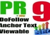 create 15 High pr Profiles BACKLINKS from PR9 PR10 Authority Web 2 0 Sites+Forums for Penguin, Panda Safe, DoFollow seo