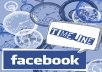provide 1700+ Guaranteed Facebook fans and likes, no admin access needed in 22 hours