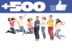 Get You 500 + Bonus Verified Facebook Likes