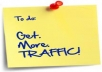 Give You Unlimited Free Worldwide Traffic to Your Website/Blog Everyday Visitors Are Real Human Being to Increase Sales