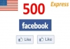 ****add 500 High Quality USA Facebook Likes, Fans to your fanpage in less than 24 hrs****