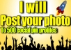 POST you photo to 500 social pin profiles