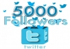 increase 5000 Plus REAL looking Twitter Followers To Any Twitter Account No Unfollows No Eggs