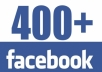 Get You 400 Real Human Facebook Likes