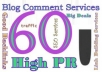 do 60 High PR doFollow Backlinks 3PR6 10PR5 12PR4 15PR3 20PR2 Penguine and Panda Safe