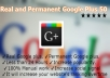 important Real and Permanent Google Plus 50 in72 Hrs