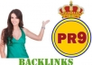 manually create Top QUALITY Backlinks 25 pr9 + 62 pr8 + 157 pr7 + 130 pr6 pr5 pr4 + bonus pr gov sites