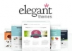 give you any theme from eleganttheme with PSD file