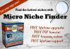 give you Micro Niche Finder