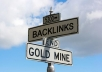 create 100 SEO backlinks over 4 of your URLs and ping them all 