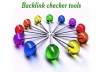 piNG your backlinks daily for 1 month using my premium linklicious.me account