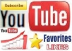 give you 50 REAL youtube likes to your youtube video, all likes deliver with 2 days