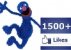 provide you with 1500 likes in your facebook fanpage within 24 hours