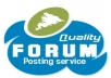 post 20 informative forum posts