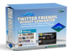 give Twitter Friends Widget